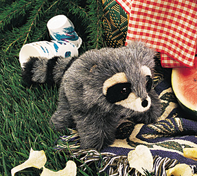 Folkmanis Puppet <br>Baby Raccoon