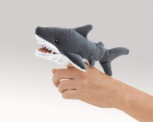 Folkmanis Puppet <br>Mini Shark