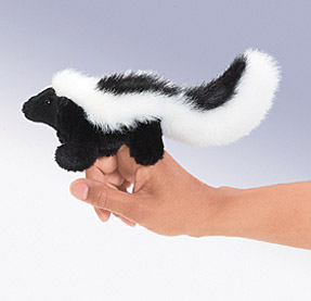 Folkmanis Puppet <br>Mini Skunk
