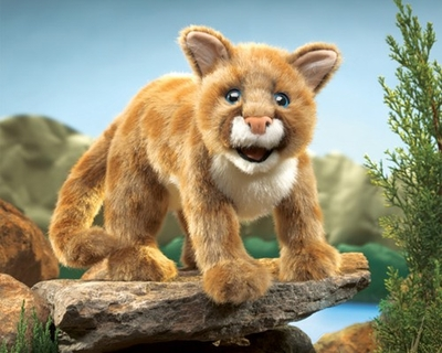 Folkmanis Puppet <br>Mountain Lion Cub