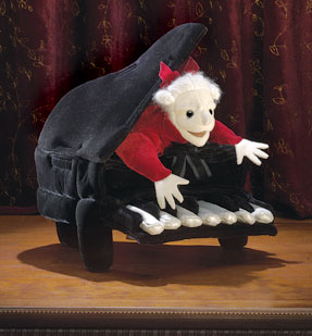 Folkmanis Puppet <br>Mozart in Piano