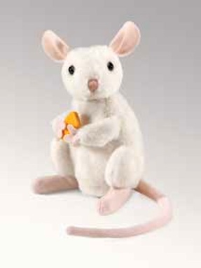 Folkmanis Puppet <br>Nibbling Mouse