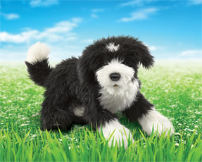 Folkmanis Puppet <br>Portuguese Water Dog