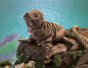 Folkmanis Puppet <br>Sea Lion