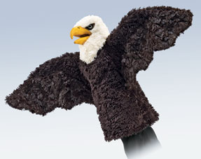 Folkmanis Puppet <br>Stage Eagle