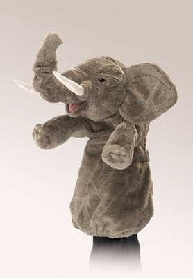 Folkmanis Puppet <br>Stage Elephant