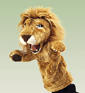 Folkmanis Puppet <br>Stage Lion