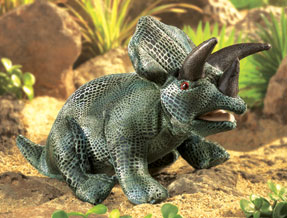Folkmanis Puppet <br>Triceratops