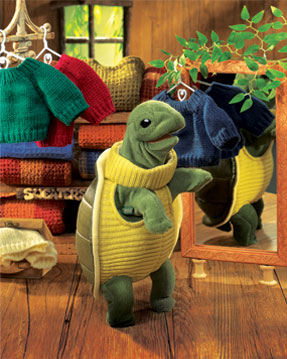Folkmanis Puppet <br>Turtleneck Turtle