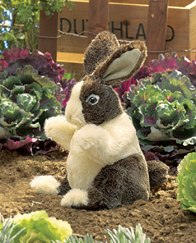 Folkmanis Puppets <br>Baby Dutch Rabbit