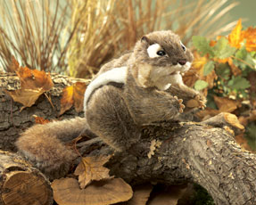 Folkmanis Puppets <br>Eastern Chipmunk