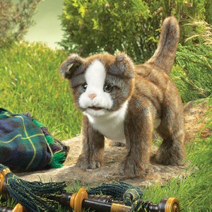Folkmanis Puppet <br>Scottish Fold Kitten