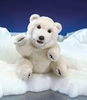 Folkmanis Puppet <br>Sitting Polar Bear