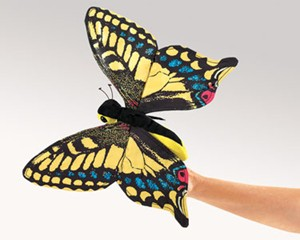 Folkmanis Puppet <br>Swallowtail Butterfly