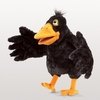 Folkmanis Puppet <br>Yellow Beaked Crow