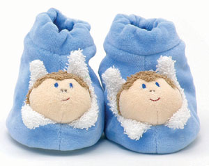 Fuernis <br>Blue Slippers
