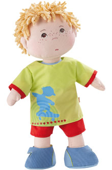 "HABA 12"" Doll <br>Little Scamp Michael"