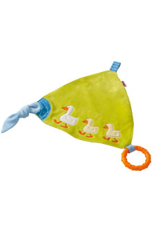 HABA Baby <br>Cuddly Cloth <br>Gaggle of Geese