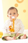HABA Baby <br>Kira Kringle <br>Pacifier Chain