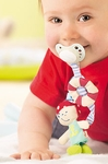 HABA Baby <br>Pacifier Chain <br>Buccaneer Bill