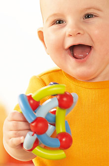 HABA Baby <br>Viva Clutching Toy