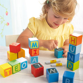 HABA Blocks <br>First Letter Fun