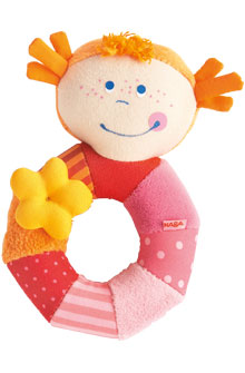 HABA Clutching Toy <Br>Rosie Ringlet