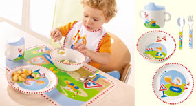 Haba Construction Site <br>Dishware Set