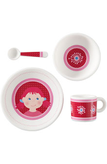 HABA Doll <br>Tableware Lotta