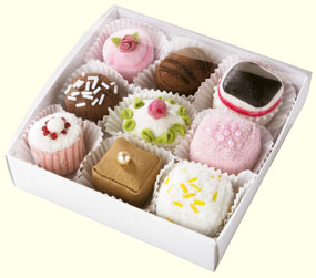 Haba Food <br>Petit Fours <br>(set of 9)