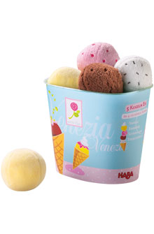HABA Food <br>Venezia <br>Ice Cream Scoops