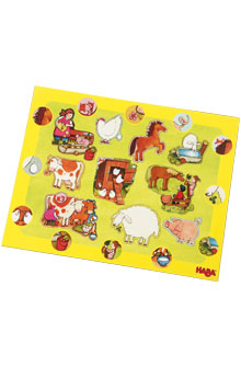 HABA Frame Puzzle <br>Animals