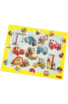 HABA Frame Puzzle <br>Construction