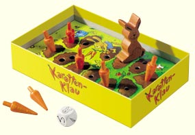 HABA Games <br>Carrot Pinching