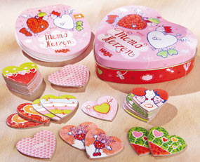Haba Games <br>Memo Hearts