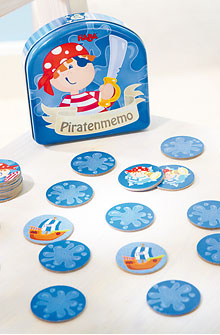 HABA Games <br>Pirate Memo
