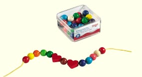 Haba Jewelry Beads <br>42 Piece Set