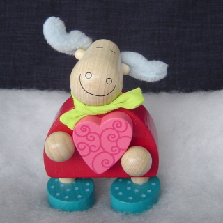 Haba <br>Moose with Heart