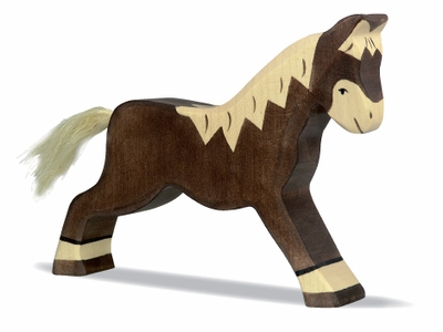 Holztiger <br>Brown Horse Running