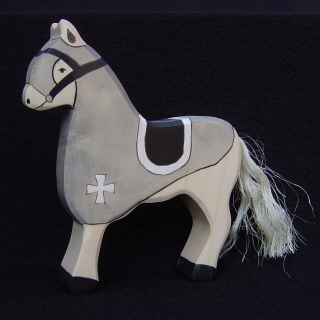 Holztiger <br>Gray Tournament Horse