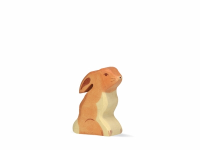 Holztiger Rabbit <br>Sitting Down