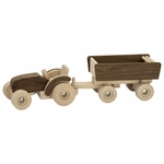 GoKi Natural Tractor <br>with Trailer