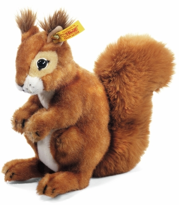 Steiff <br>Best for Kids <br>Niki Squirrel