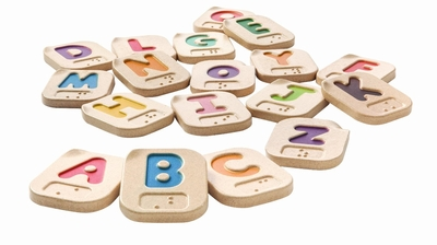 Plan Toys <br>Braille Alphabet