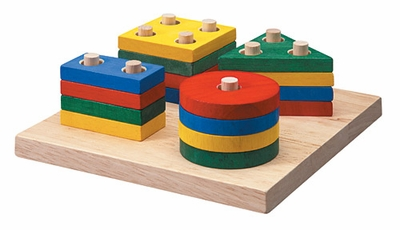 Plan Toys <br>Geometric Sorting Board