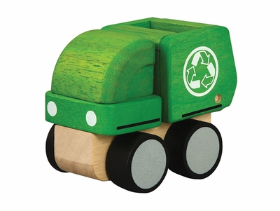 Plan Toys <br>Mini Garbage Truck
