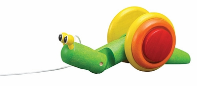 Plan Toys <br>Pull-Along Snail