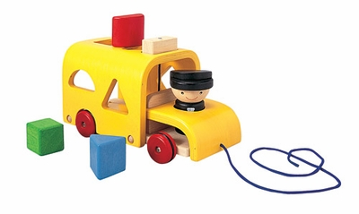 Plan Toys <br>Sorting Bus