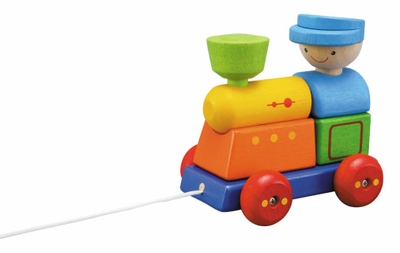 Plan Toys <br>Sorting Train