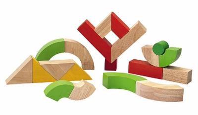 Plan Toys <br>Twisted Block Set